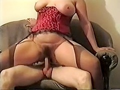 Thick wife in lingerie taking charge