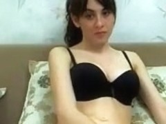 Lovely pussy play on a webcam show