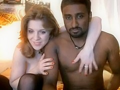 Hubby recording his cuckold wife and dark paramour