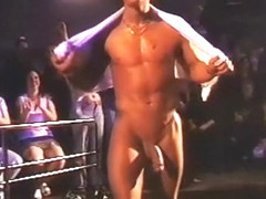 MSU Huge Cock Stripper Show