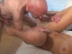 Two 19-year olds & horny grandpa!