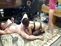 Do we have old man, milf and girl  video here?