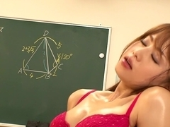 Tutor Fucks Her Student In The Classroom