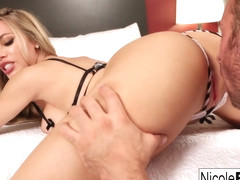 Nicole Aniston in Blonde Hottie Gets Her Pussy Eatin Until She Cums - NicoleAniston