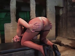 Exotic fetish, anal sex scene with amazing pornstars Skylar Price and Bobbi Starr from Everythingb.