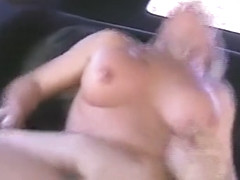 Excited busty blonde mom suck and ride hard shaft
