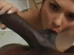 Katja Kassin sucks Lexington Steele close up - DG37