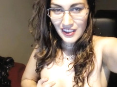 A Slut Massages Her Tits