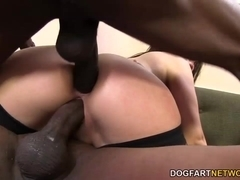 Valentina Nappi Gets Her Holes Revaged By Black Cocks