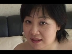44yr old Chunky Breasty Japanese Mama Wants Cum (Uncensored)