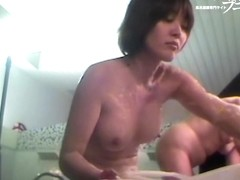 Intimate showering procedure of the real japanese fems 03165