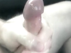 Jerking it in the car again