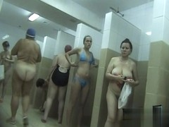 Hidden cameras in public pool showers 206
