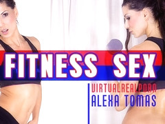 Alexa as in Fitness sex - VirtualRealPorn
