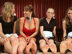 Crazy lesbian, fetish adult scene with amazing pornstars Riley Reid, Penny Pax and Ava Devine from.