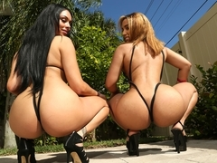 Bethany Benz & Damon Dice & Honey Lou in Honey bum - RoundAndBrown
