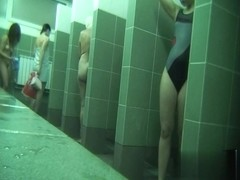Hidden cameras in public pool showers 357